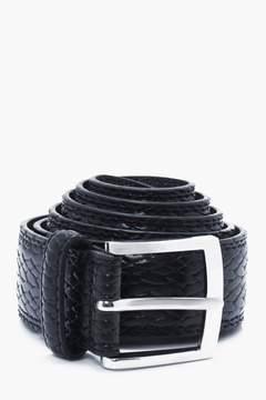 boohoo Embossed PU Belt Mulitpack