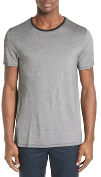 ATM Anthony Thomas Melillo Men's Contrast Crewneck T-Shirt