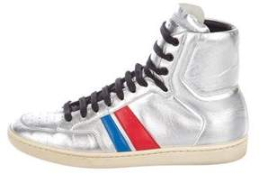 Saint Laurent SL/04H High-Top Sneakers
