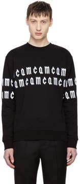 McQ Black Repeat Logo Sweatshirt