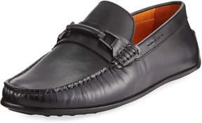 Donald J Pliner Imari Leather Bit Moc Loafer