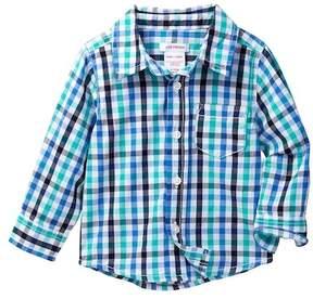 Joe Fresh Check Shirt (Baby Boys)