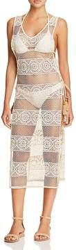 Pilyq Joy Crocheted Lace Dress Swim Cover-Up