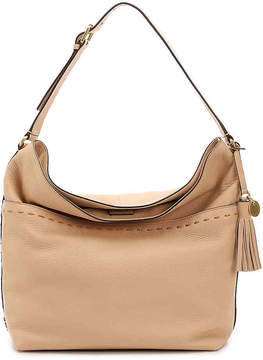Cole Haan Ivy Pic Stitch Leather Hobo Bag - Women's