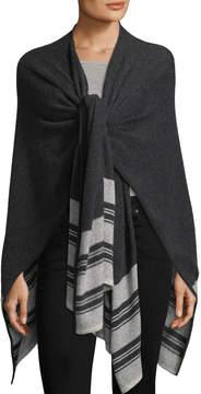 Portolano Women's Open Front Striped Wrap