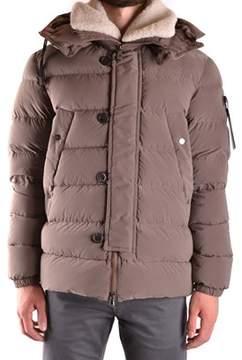 Peuterey Men's Brown Polyamide Down Jacket.