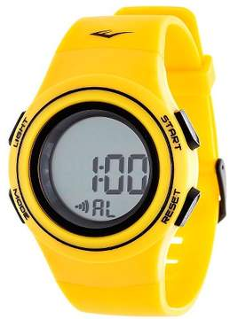 Everlast Heart Rate Monitor Watch - Yellow