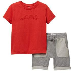 AG Jeans Jersey Tee with Shorts (Toddler Boys)