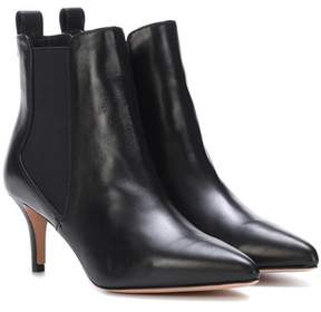 Veronica Beard Parker leather ankle boots