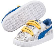 Puma Minions Basket V Kids Sneakers