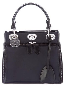 Ralph Lauren Mini Leather Handle Bag