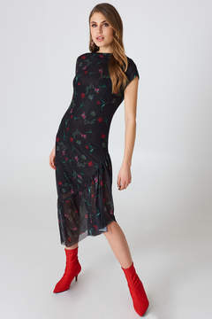 NA-KD Na Kd One Sleeve Mesh Dress