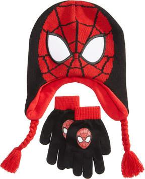 Spiderman 2-Pc. Hat & Gloves Set, Little Boys (2-7) & Big Boys (8-20)