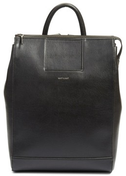 Matt & Nat 'Katherine' Faux Leather Backpack - Black