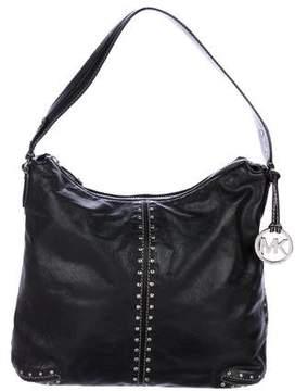 Michael Kors Michael Studded Leather Shoulder Bag