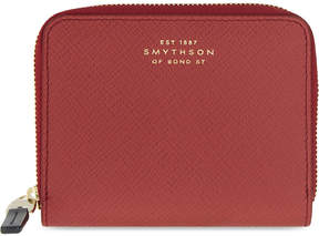 Smythson Panama leather coin purse