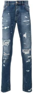 Philipp Plein So Alright Super Straight Cut jeans