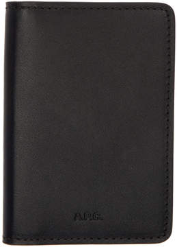 A.P.C. Black Stefan Wallet