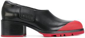 Jil Sander contrast cap shoes