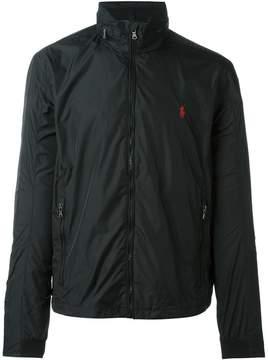 Polo Ralph Lauren embroidered logo zip jacket