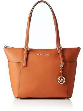 Michael Kors Jet Set East West Top Zip Tote. - ORANGE - STYLE