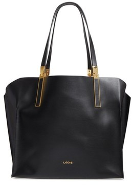 Lodis Silicon Valley Collection Under Lock & Key - Anita Rfid East/west Leather Satchel - Black