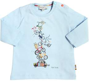 Paul Smith Bicycles Printed Cotton Jersey T-Shirt