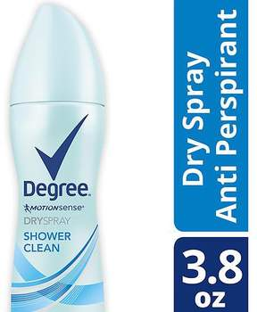 Degree Women Antiperspirant Deodorant Dry Spray Shower Clean