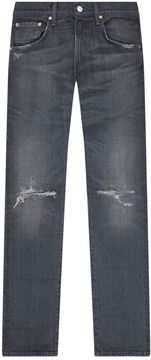 Citizens of Humanity Faded Ripped Knee Skinny Jeans