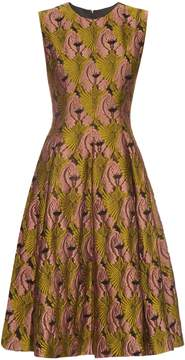Emilia Wickstead Mercedes fil coupé sleeveless dress