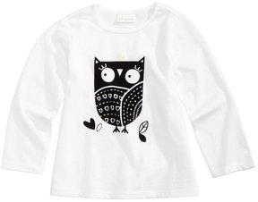 First Impressions Owl-Print Cotton T-Shirt, Baby Girls (0-24 months), Created for Macy's