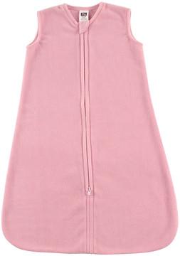 Hudson Baby Light Pink Fleece Sleeping Bag - Newborn