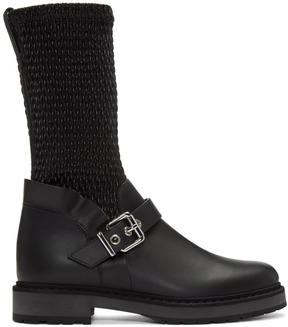 Fendi Black Waves Boots