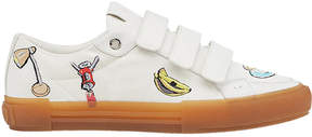 Fendi patch sneakers