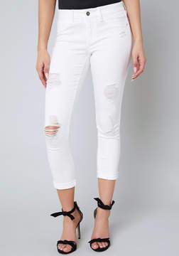 Bebe Ripped Heartbreaker Jeans