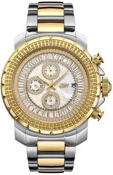 JBW Diamond Mens Two Tone Bracelet Watch-J6347c