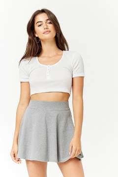 Forever 21 Knit Skater Skirt