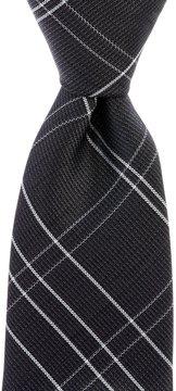 Murano Grid Narrow Silk Tie