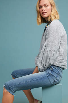 Mother The Stunner Knicker High-Rise Frayed Jeans