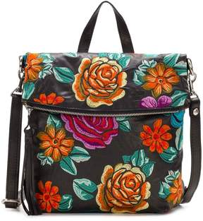 Patricia Nash Spanish Villa Embroidery Collection Luzille Convertible Backpack