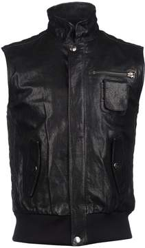 Pierre Balmain Leather outerwear