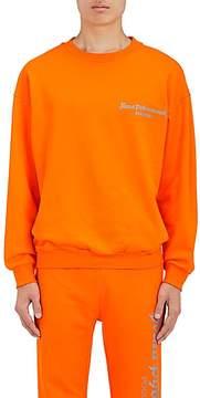 Gosha Rubchinskiy Men's Logo-Print Cotton Sweatshirt