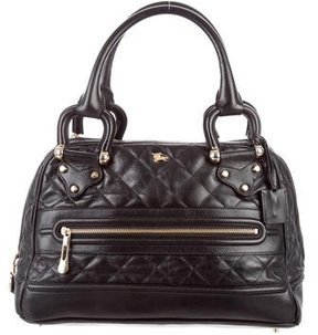 Burberry Quilted Leather Westbury Tote - BLACK - STYLE
