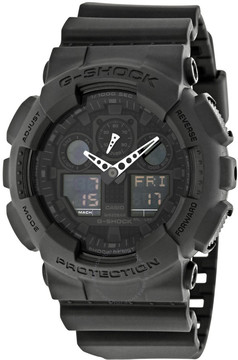 Casio G-Shock Classic Series Analog-Digital Black Dial Men's Watch
