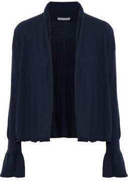 Autumn Cashmere Ruffle-Trimmed Cashmere Cardigan