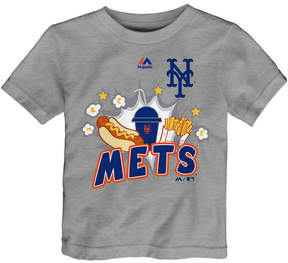 Majestic New York Mets Snack Attack T-Shirt, Toddler Boys (2T-4T)