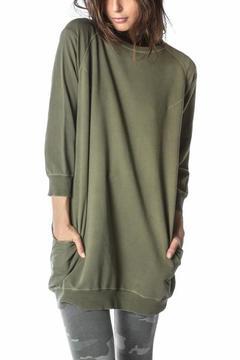 Ragdoll LA SWEATSHIRT DRESS Faded Army