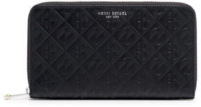 Henri Bendel Empire Zip Around Continental Wallet