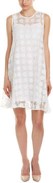 Donna Morgan Polka Dot Swing Dress