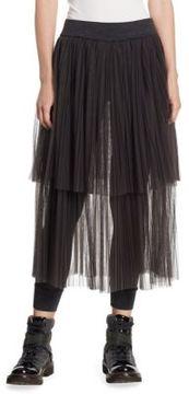 Brunello Cucinelli Tulle Skirt Leggings
